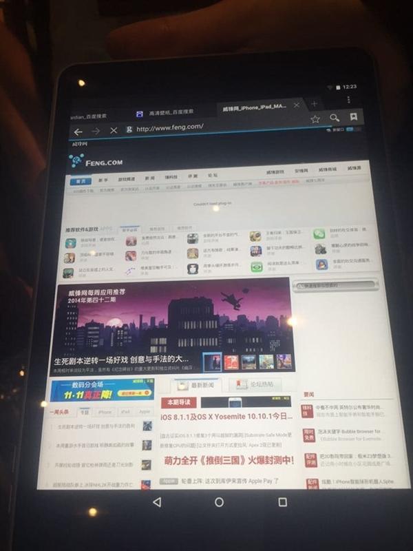 诺基亚宣布android平板nokia n1 首发中国 售价1525元 高清图片